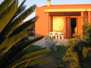 Casa vacanza Sardegna Rosy esterno ingresso